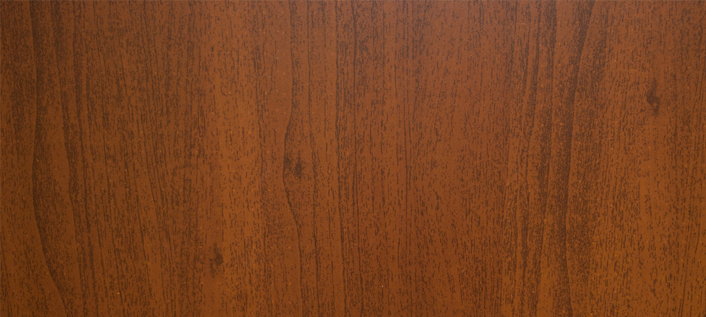 Dark Walnut Powder Coated Woodgrain width=