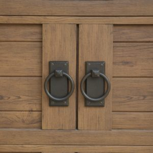 Decorative Hardware / Martin Walnut H Groove